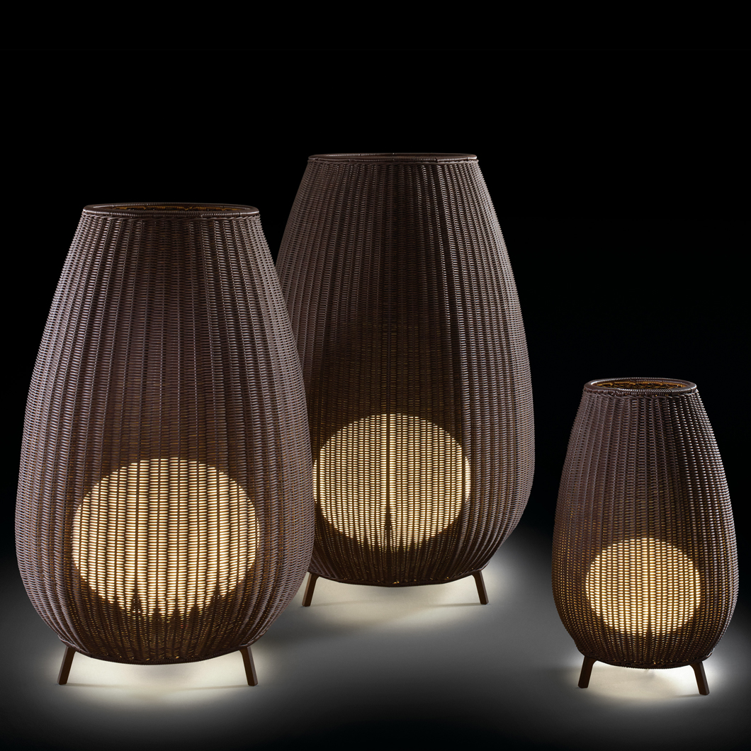 Bover Amphora Exterior Floor Lamp All Versions