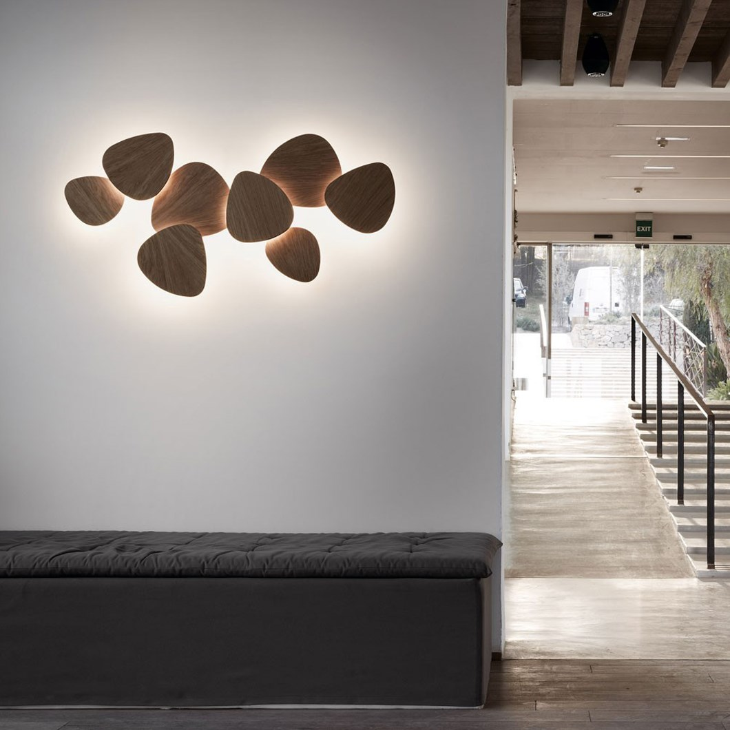Bover Tria Set 8 Wall Light| Image:1