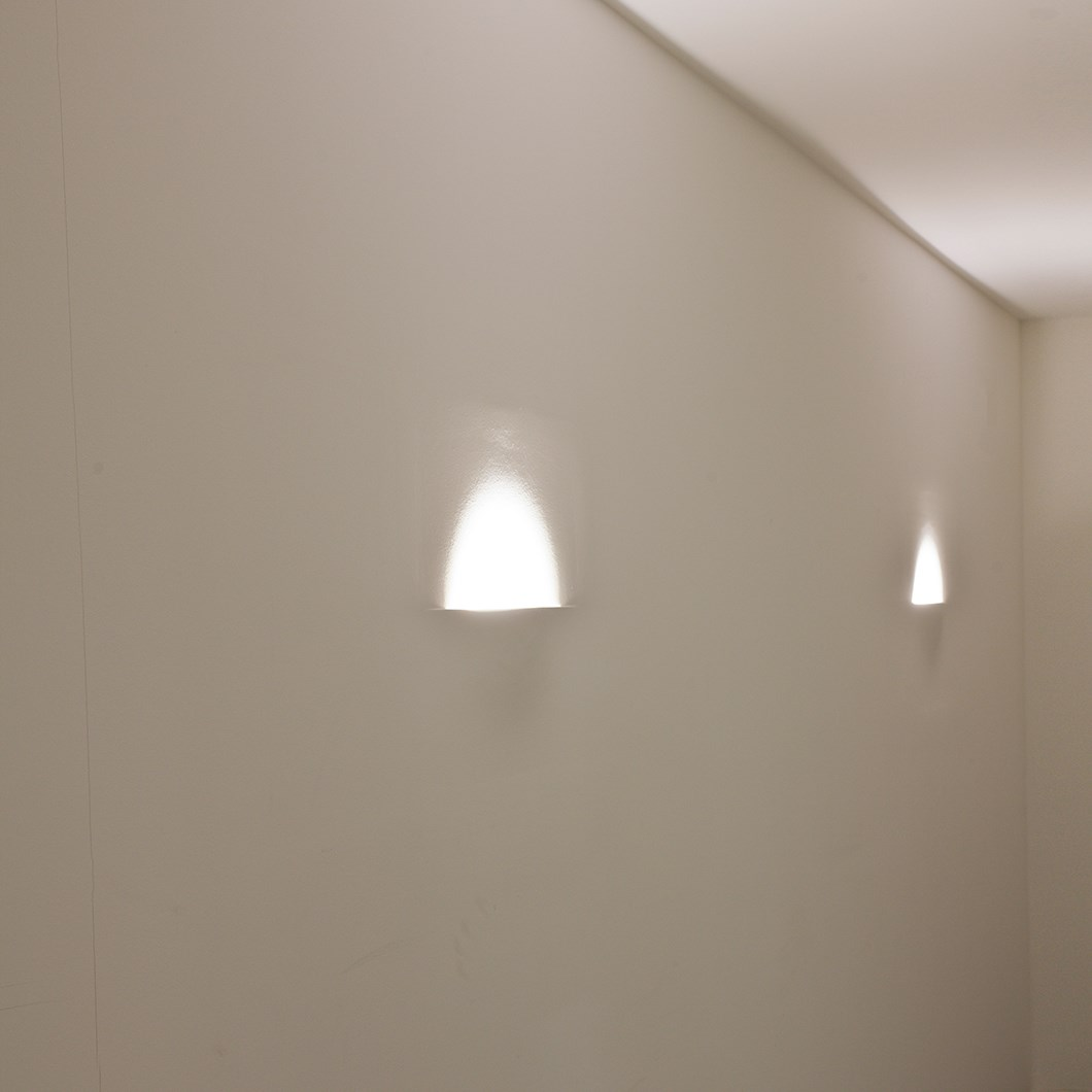 Brick In The Wall Atmos LED Plaster In Wall Light| Image:1