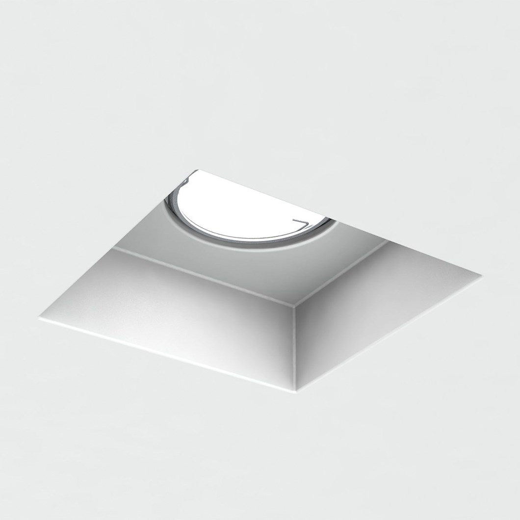 Brick In The Wall Indox 50 Recessed Plaster In Downlight| Image : 1