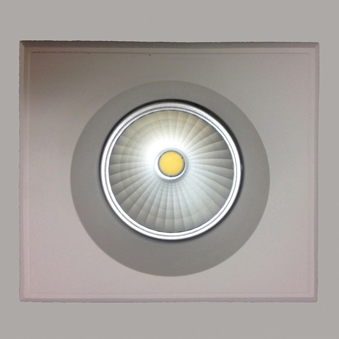 CLEARANCE Brick In The Wall Pixo 50 Plaster In Recessed Downlight| Image:1