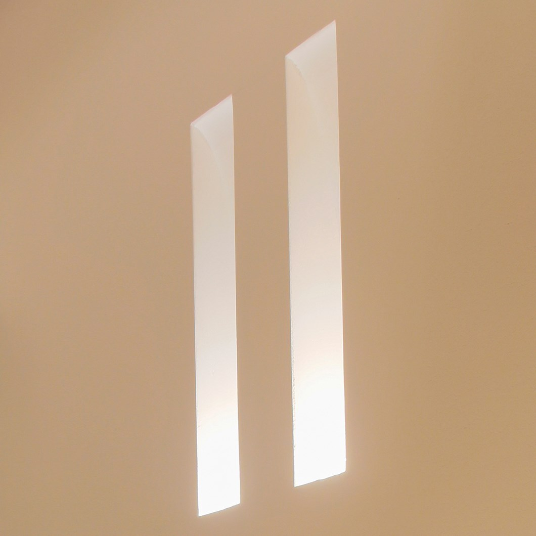 Brick In The Wall Slim Plaster In Wall Light| Image : 1