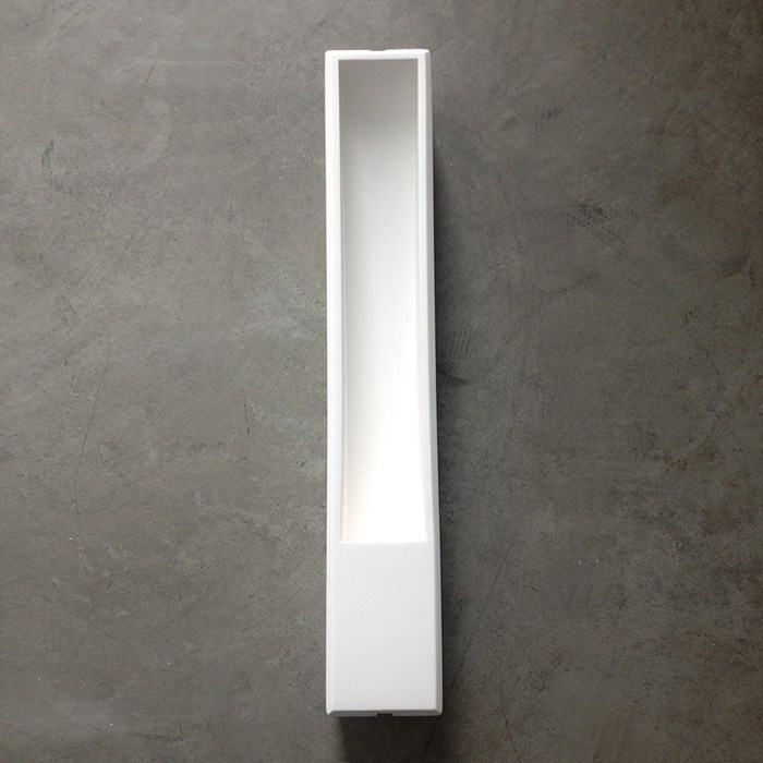 Brick In The Wall Slim Plaster In Wall Light| Image:1