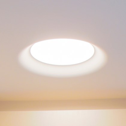 Brick In The Wall Flush 228 Plaster In Downlight