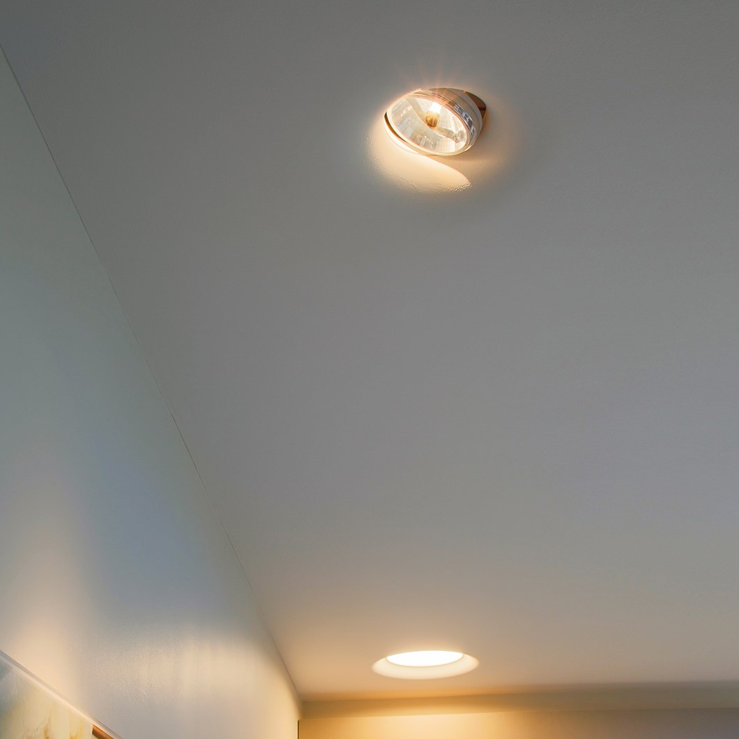 Brick In The Wall Level 111 Plaster In Recessed Downlight| Image:1