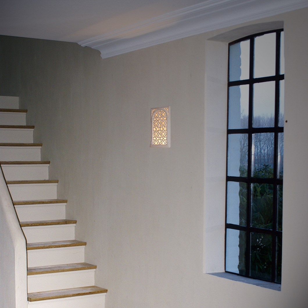 Brick In The Wall Frame LED Plaster In Recessed Wall Light| Image:1