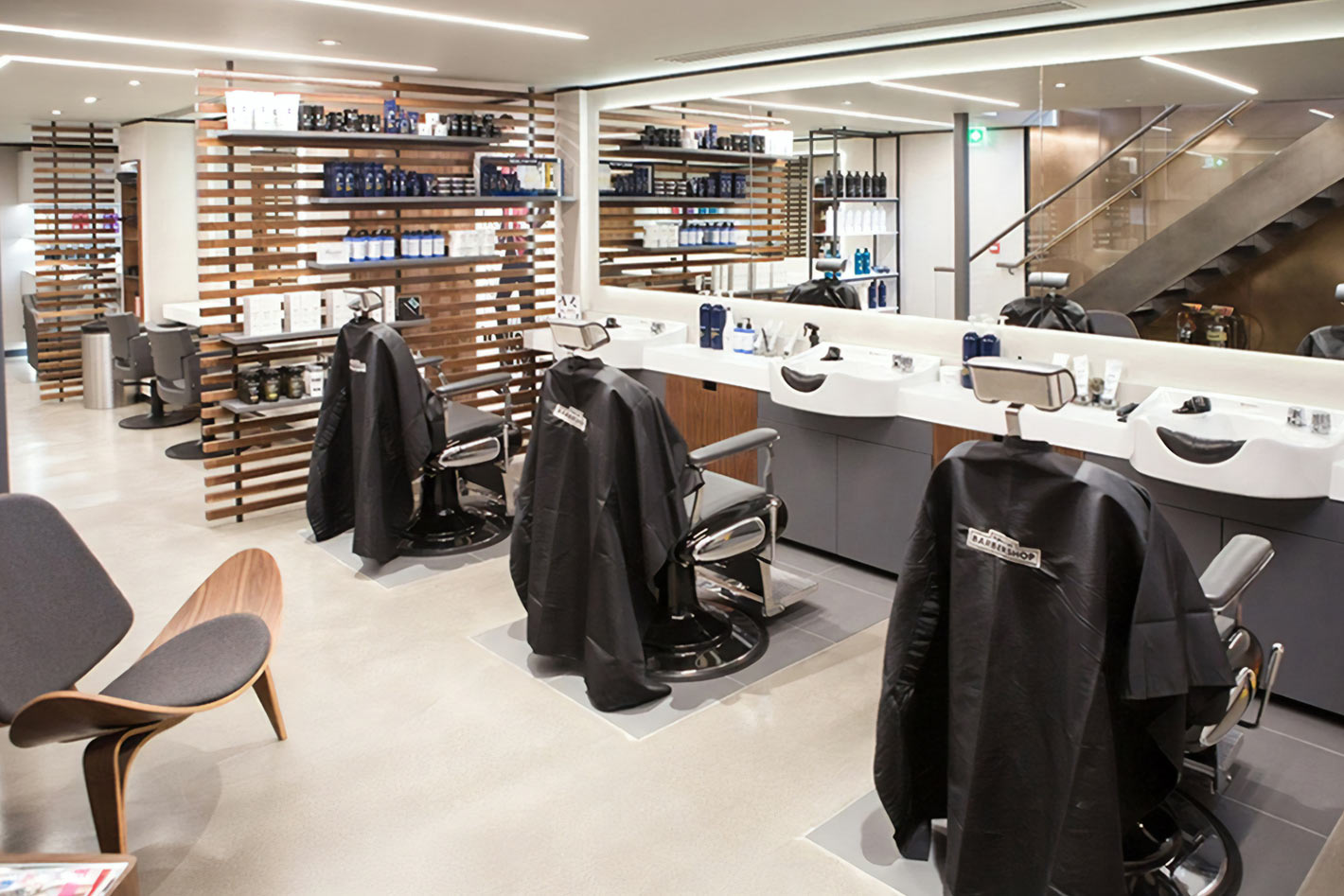 Commercial Lighting Design Toni Guy Hair Salon Darklight Design Lighting Design Supply