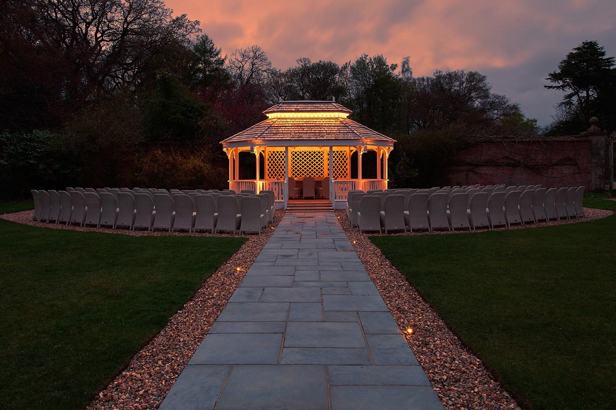 Lighting Design Easthampstead Park Darklight