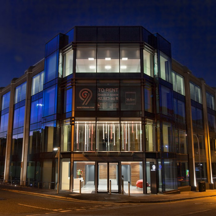 Commercial Lighting Design - 9 Greyfriars