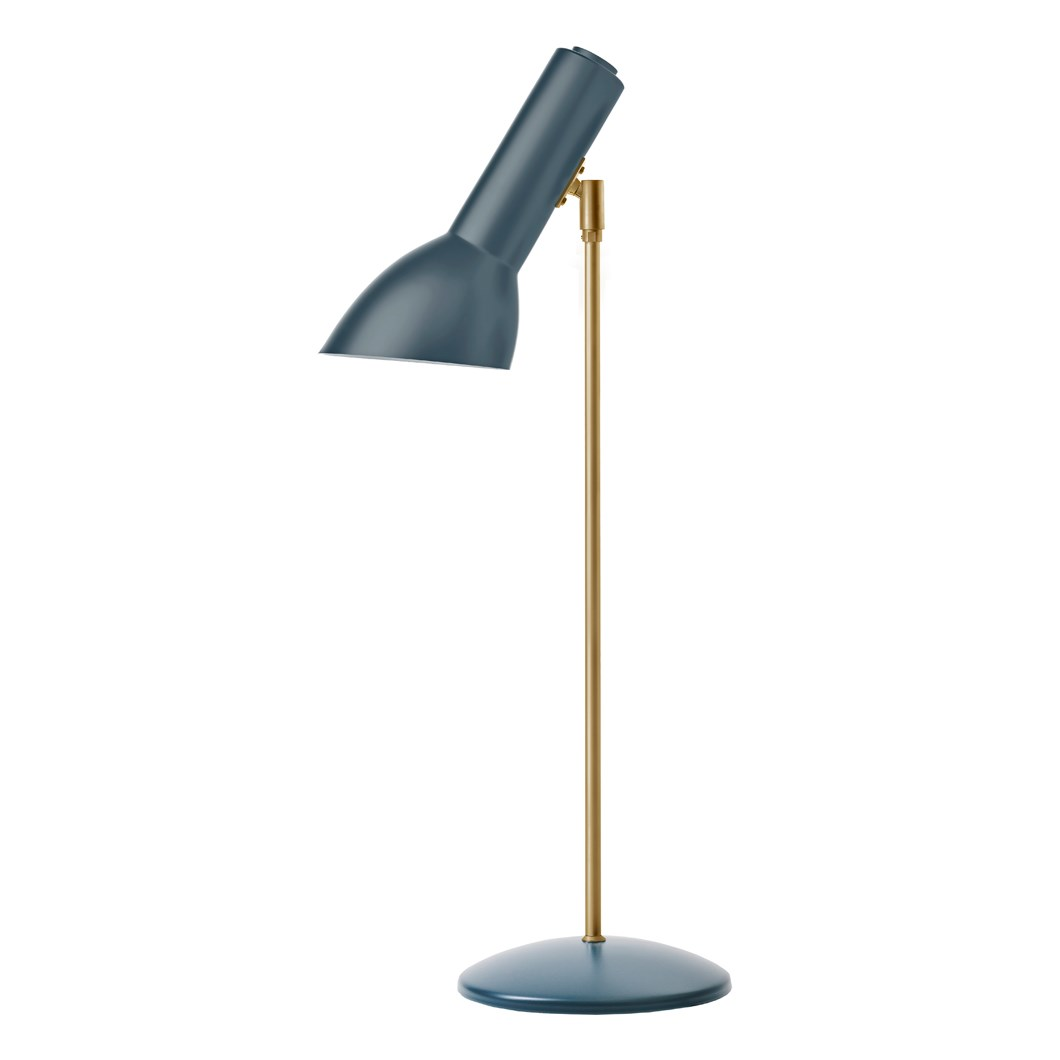 CPH Lighting Oblique Brass Table Lamp| Image:1