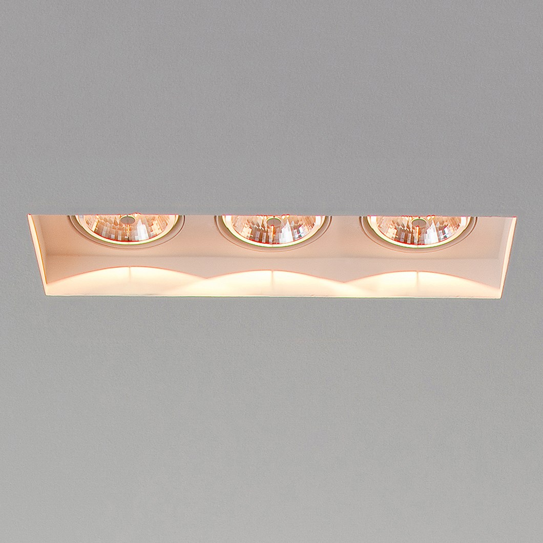 Brick In The Wall Indox 3x50 Recessed Plaster In Downlight| Image : 1