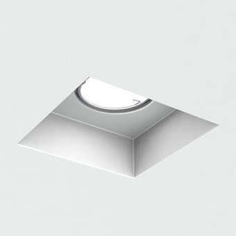 Brick In The Wall Indox 50 LED Recessed Plaster In Downlight