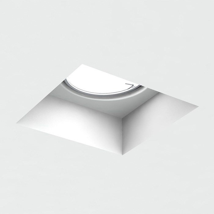 Brick In The Wall Indox 50 Mini LED Recessed Plaster In Downlight| Image : 1