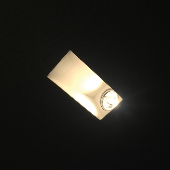 Brick In The Wall Indox 50 W LED Recessed Plaster In Downlight| Image : 1
