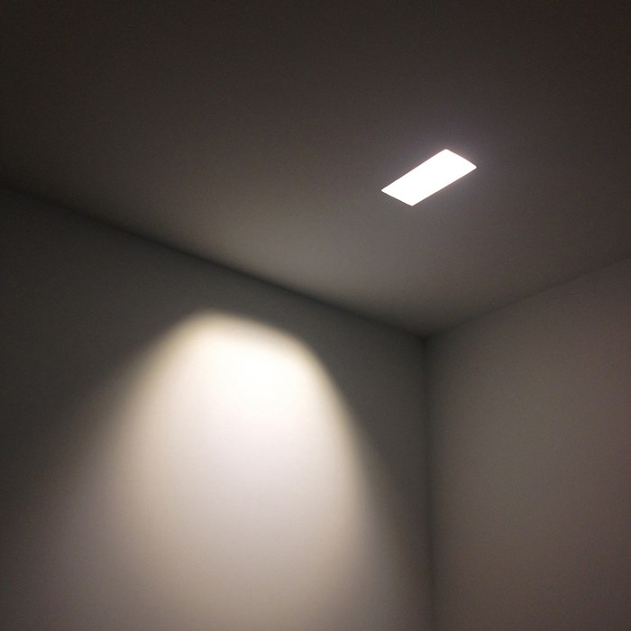 Brick In The Wall Indox 50 W LED Recessed Plaster In Downlight| Image:1
