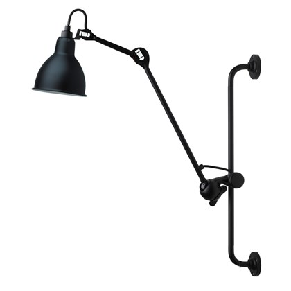 CLEARANCE DCW Editions N°210 Wall Light Black Satin