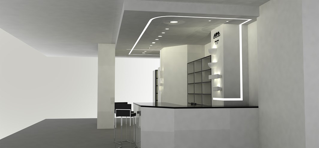 Nama Athina Modular 08 Curve R250 Out Plaster In Linear LED Profile| Image:6
