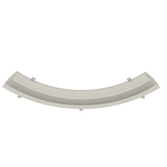 Nama Athina Modular 09 Curve R500 In Plaster In Linear LED Profile