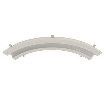 Nama Athina Modular 09 Curve R500 Out Plaster In Linear LED Profile