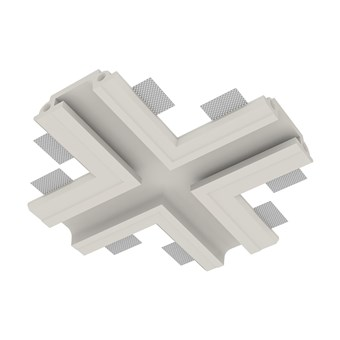 Nama Athina Modular 13 Cross 90 Degree Plaster In Linear LED Profile