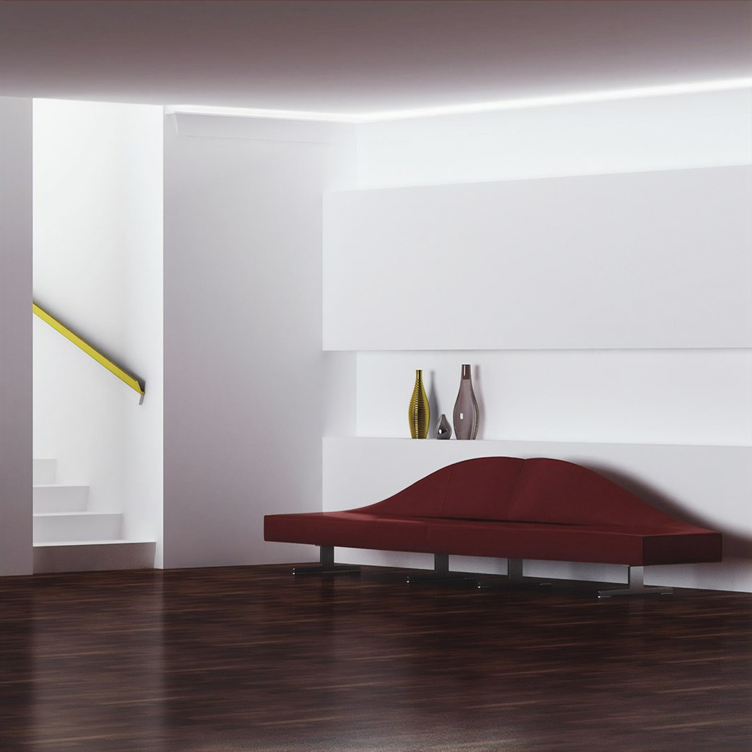 Eleni Lighting EL501 Straight LED Linear Profile Cornice | Image:24