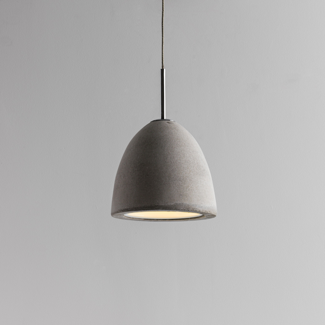 Seed Design Castle Small Concrete Pendant - Next Day Delivery