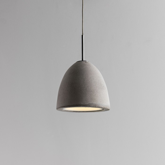 Seed Design Castle Small Concrete Pendant - Next Day Delivery| Image : 1