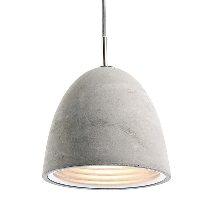 Seed Design Castle Small Concrete Pendant - Next Day Delivery| Image:1
