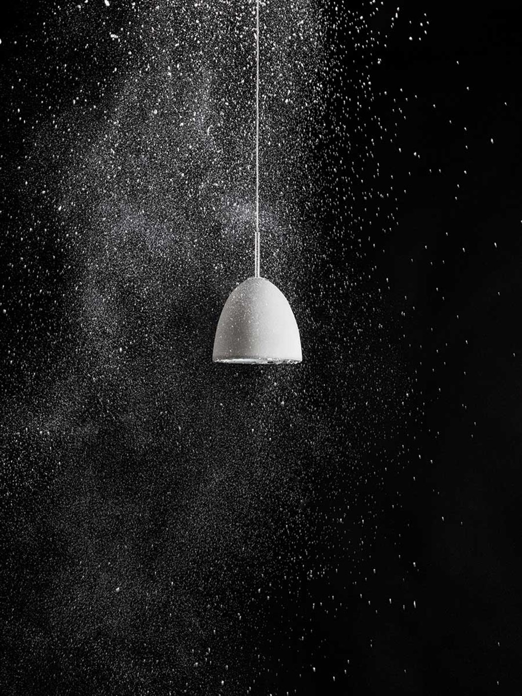 Seed Design Castle Small Concrete Pendant - Next Day Delivery| Image:7