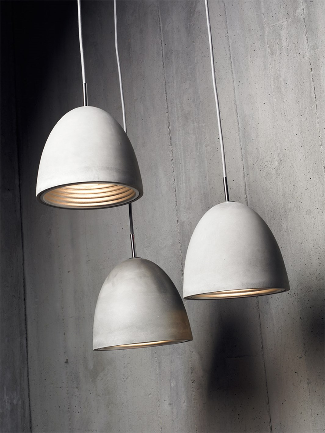 Seed Design Castle Small Concrete Pendant - Next Day Delivery| Image:12