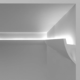 Eleni Lighting EL502 Curved LED Linear Profile Cornice