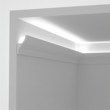 Eleni Lighting EL701 Curved LED Linear Profile Cornice
