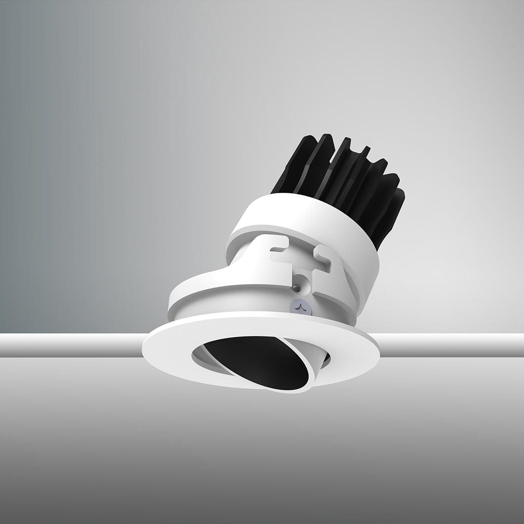 DLD Atlas Mini LED IP65 Adjustable Recessed Downlight - Next Day Delivery