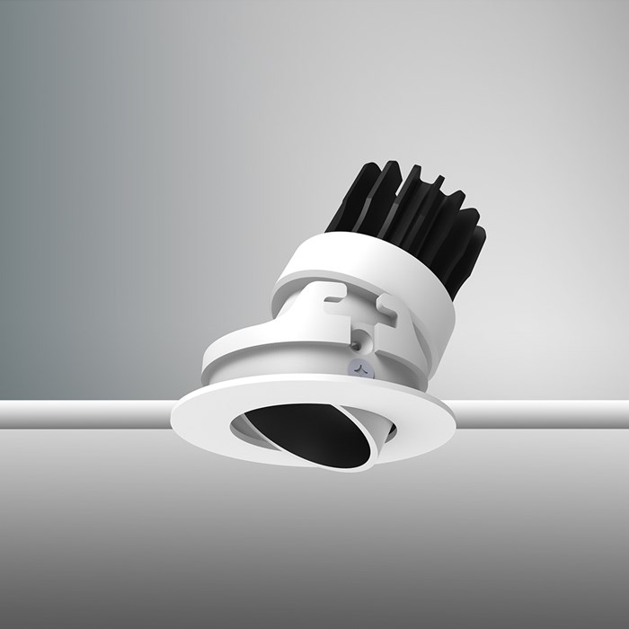 DLD Atlas Mini LED IP65 Adjustable Recessed Downlight - Next Day Delivery| Image : 1