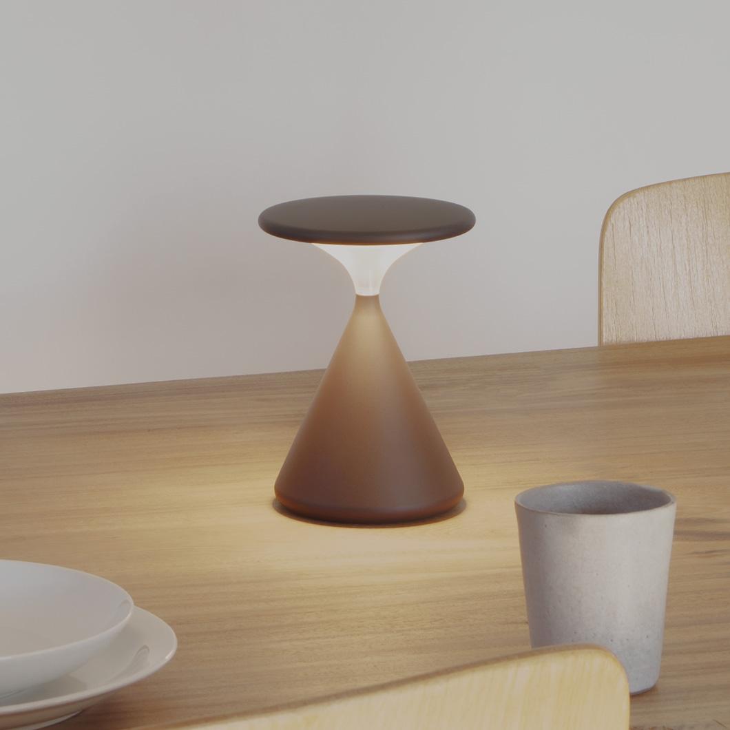Tobias Grau Salt And Pepper Portable Cordless Led Table Lamp Darklight Design Lighting Design Supply