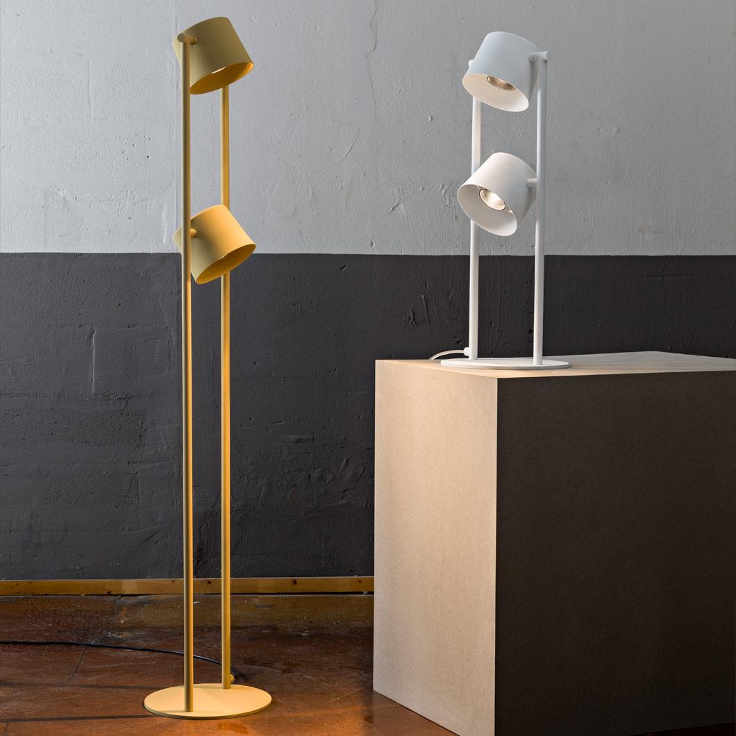 Blond Belysning Chorus 2 Led Floor Lamp Darklight Design Lighting Design Supply