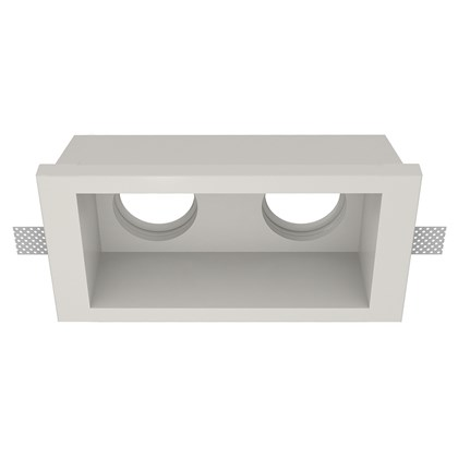 Nama Fos 09 Twin Plaster In Downlight frame only on white background
