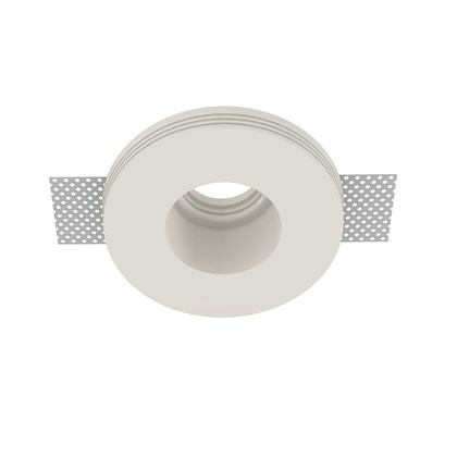 Nama Fos 25 Round Plaster In Downlight frame only on white background
