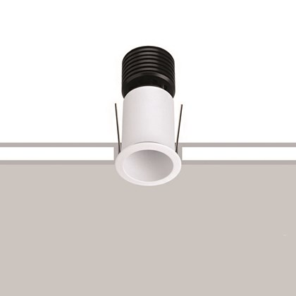 Stock image of the Flexalighting Core 6 Downlight Recessed Donwlight in white.
