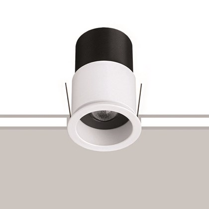 The Flexalighting Jimbo 10 Downlight stock image with a white and grey background.
