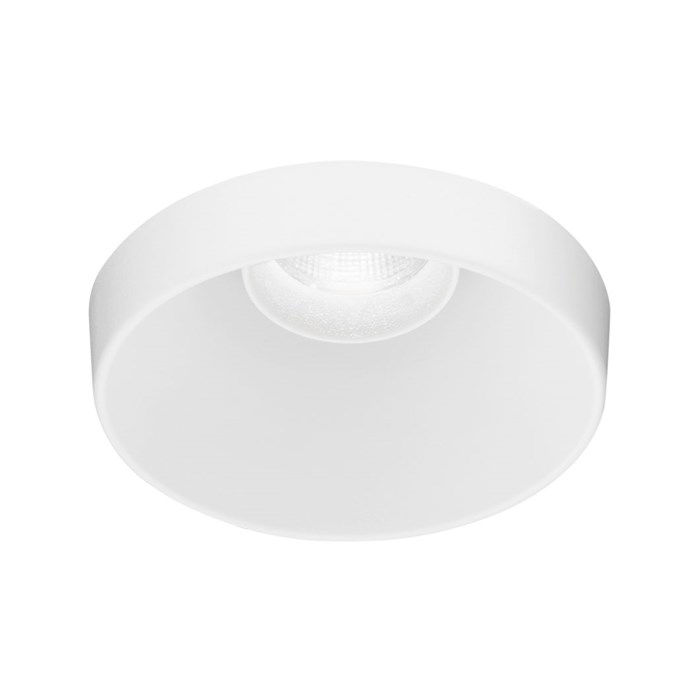 Intralighting Pipes RV Recessed Downlight in white