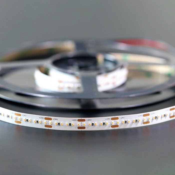 Roll of DLD Lightflow IP66 19.2W dimmable LED Tape
