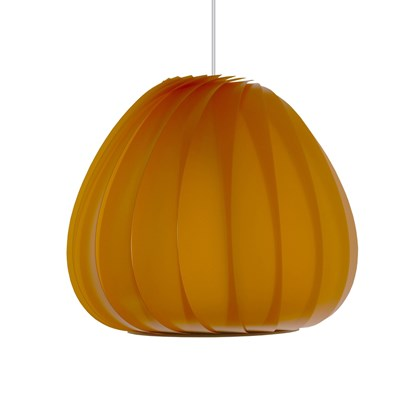 CLEARANCE Tom Rossau TR12 Plastic Pendant: Medium, Orange