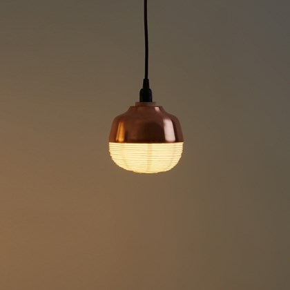 CLEARANCE Kimu Design The New Old Light Small Copper Pendant