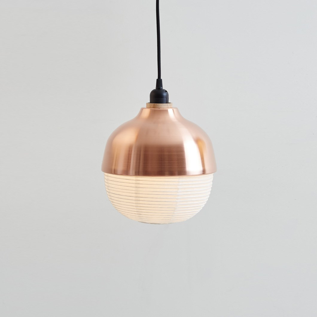 CLEARANCE Kimu Design The New Old Light Medium Copper Pendant| Image:1