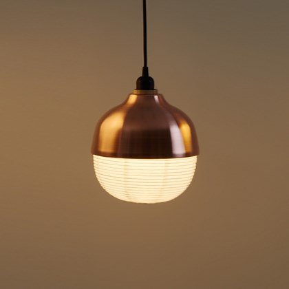 CLEARANCE Kimu Design The New Old Light Medium Copper Pendant