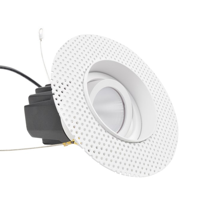 DLD Eiger 1-R True Colour CRI98 LED Adjustable Plaster In Downlight| Image:1