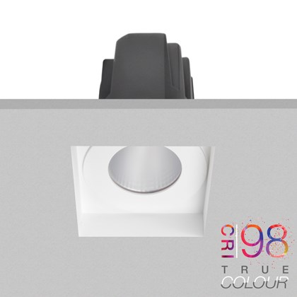 DLD Eiger 1-S True Colour LED IP65 Plaster In Downlight