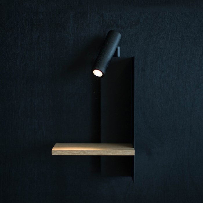 Asaf Weinbroom Shelf Wall Light| Image : 1