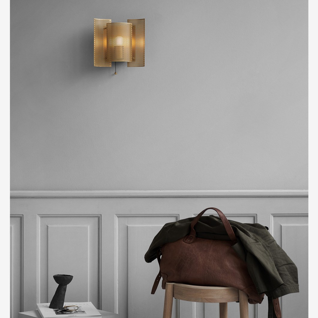 Northern Butterfly Perforated Wall Light| Image:1
